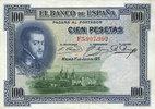 1.7.1925 OTHER FOREIGN NOTES Espagne. Banque d'Espagne. Billet. 100 pe... 15,00 EUR  +  7,00 EUR shipping