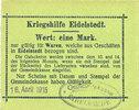 16.4.1915 GERMANY - EMERGENCY NOTES (1914-1923) A - J Eidelstedt. Krie... 20,00 EUR  +  7,00 EUR shipping