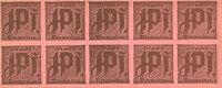 GERMANY - EMERGENCY NOTES (1914-1923) K - Z Passau, Stadt, billets, 1... 5,00 EUR  +  7,00 EUR shipping
