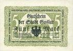 1.11.1918 DEUTSCHLAND - NOTGELDSCHEINE (1914-1923) A - J Goslar, Stadt... 12,00 EUR