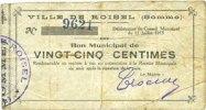 11.7.1915 FRENCH EMERGENCY NOTES Roisel (80). Ville. Billet. 25 centim... 6,00 EUR  +  7,00 EUR shipping