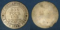 FRANZÖSISCHE NOTMÜNZEN  Paris (75). Société Philantropique. Bon pour une soupe (1815-1820)