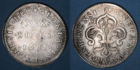 FRENCH ROYAL COINS  1643-1715 TB+ /TTB Louis XIV (1643-1715). Monnayage ... 280,00 EUR