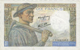 NOTES OF THE BANQUE DE FRANCE 10 francs  s...
