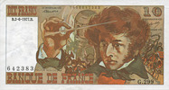 2.6.1977 NOTES OF THE BANQUE DE FRANCE Banque de France. Billet. 10 fr... 8,00 EUR  +  7,00 EUR shipping