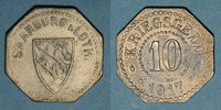 1917 FRENCH EMERGENCY COINS Sarrebourg (57). Ville. 10 pfennig 1917 ss  8,00 EUR  +  7,00 EUR shipping