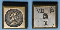 1589-1610 WEIGHTS Henri IV (1589-1610). Poids monétaire du teston ss  105,00 EUR  +  7,00 EUR shipping