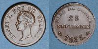 1833 FRENCH MODERN COINS Henri V, prétendant (1830-1883). Module de 1/... 30,00 EUR  +  7,00 EUR shipping