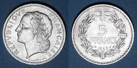 1949 FRENCH MODERN COINS 4e république (1947-1959). 5 francs Lavrillie... 10,00 EUR  +  7,00 EUR shipping