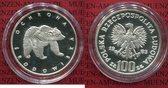 100 Zloty Silbermünze 1983 Polen, Poland B...