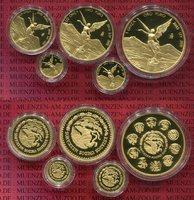 1, 1/2, 1/4, 1/0 1/20 Unze Gold 2015 Mexik...