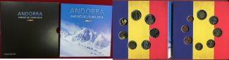 Andorra Euro Kursmünzensatz und Diner KMS ...
