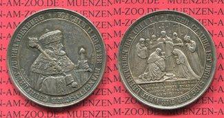 Silber Medaille 1839 Preußen Berlin 300 J....