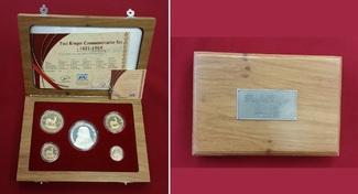 1/10, 1/4, 1/2 und 1 Unze Gold 2004 Südafr...