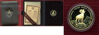 100 Dollars Goldmünze, 1/2 Unze 1985 Kanad...