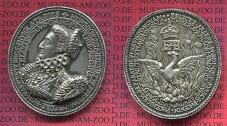 England  Great Britain Medaillon Silber  G...