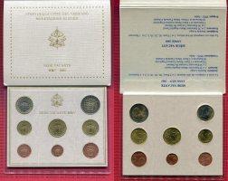Vatikan Kursmünzensatz Sede Vacante Sedisv...