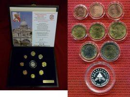 Vatikan Kursmünzensatz Papst Johannes Paul...