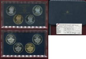 4 x 100 Francs Goldmünze 1987 Frankreich F...