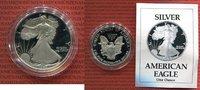USA 1 Dollar Silver Eagle 1 Unze USA 1 Dollar 1990 Liberty Silver Eagle PP