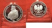5000 Zloty 1989 Polen Polen 5.000 zl Wladislaw II Jagiello Sehr Selten ... 350,00 EUR
