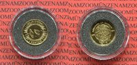 1 Sertum Goldmünze 1/25 Unze 1995 Bhutan Bhutan 1 Sertum 1995 Sonnensys... 59,00 EUR