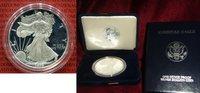 USA 1 Silber Dollar USA American Eagle Silber 1 Dollar 1999