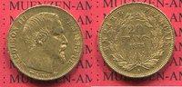 20 Francs Goldmünze, Goldcoin 1855 A Frankreich France Napoleon III Emp... 230,00 EUR  +  8,50 EUR shipping