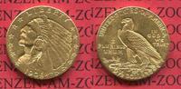 2 1/2 Dollars Indian Head Goldmünze 1908 USA USA 2 1/2 Dollars 1909 Gol... 399,00 EUR  +  8,50 EUR shipping