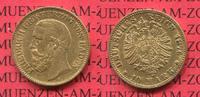 10 Mark Goldmünze 1876 Baden Baden 10 Mark Gold Grossherzog Friedrich 1... 269,00 EUR  +  8,50 EUR shipping
