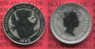 50 Dollars, 1/2 Unze Koala Platin 1992 Aus...