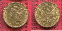 10 Dollars Liberty Frauenkopf Eagle 1897 USA USA 10 Dollars Liberty, Fr... 645,00 EUR
