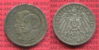 3 Mark Silber 1914 Anhalt Anhalt 3 Mark 1914, Silberhochzeit des Herzog... 70,00 EUR  +  8,50 EUR shipping