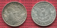 USA 1 Dollar Morgan Typ USA 1898, Philadelphia Mint 1 Dollar Morgan Typ Silber
