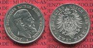 Preußen, Prussia German Empire 2 Mark Silbermünze Circulation Coin Preußen 2 Mark 1888 A, Friedrich III.