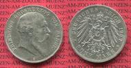 5 Mark Silbermünze 1907 Baden, Kaiserreich 1871-1918 Baden 5 Mark 1907,... 70,00 EUR  +  8,50 EUR shipping