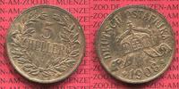 Deutsch Ostafrika German Colonial Money 5 Heller Deutsch Ostafrika 5 Heller 1908 Auswärtiges Amt