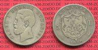 5 Lei Silber 1880 Rumänien Romania Rumänien 5 Lei Silber 1880B  Carol. ... 55,00 EUR  +  8,50 EUR shipping