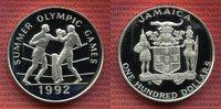 100 Dollars Silbermünze 1992 Jamaika Jamaica 100 Dollars 1992 Summer Ol... 149,00 EUR  +  8,50 EUR shipping