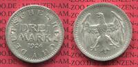 3 Mark Silber Kursmünze 1924 A Weimarer Republik Deutsches Reich Weimar... 85,00 EUR  +  8,50 EUR shipping