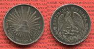 Mexiko 1 Peso Silbermünze Mexiko 1 Peso 1902 Mexico City, Mo AM