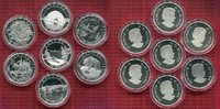 Lot 7 x 10 Dollar  Silber 2014 Kanada, Canada Kanada 7 x 10 Dollars Sil... 189,00 EUR  +  8,50 EUR shipping