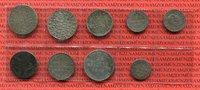 Lot von 9 Kleinmünzen versch. Lot Altdeutschland vor 1871 Preußen etc A... 50,00 EUR