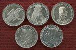 Die Ersten fünf 5 DM Gedenkmünzen 1952-1964 Bundesrepublik Deutschland,... 980,00 EUR
