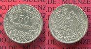 50 Pfennig 1896 Kaiserreich 50 Pfennig Silber, 1896 A J. 15, sehr selte... 225,00 EUR