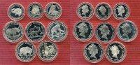 Lot von 8 Münzen 1990 Cook-Inseln Cook Islands 5 x 50 Dollar + 3 x 10 D... 99,00 EUR  +  8,50 EUR shipping