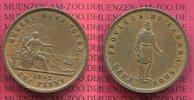 2 Sous 1 Penny Bank Token 1852 Province de Canada Quebec Kupfer Kanada ... 120,00 EUR  +  8,50 EUR shipping