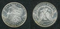 USA 1 Dollar Morgan Typ USA 1878 CC, 1 Dollar Morgan Typ Silber Carson City