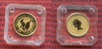 15 Dollars 1998 Australien Känguruh 1/10 Unze Gold Stempelglanz in Orig... 135,00 EUR  excl. 8,50 EUR verzending