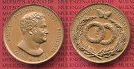 Bonzemedaille 1828 o.J. Sachsen-Weimar-Eisenach Carl August, 1775-1828.... 175,00 EUR  +  8,50 EUR shipping